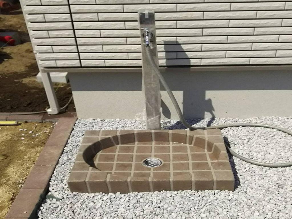 立水栓の設置