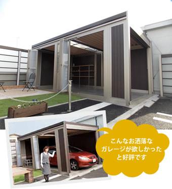 ガレージ LIXILスタイルコート展示中!